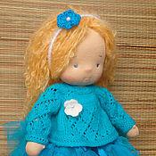 Куклы и игрушки ручной работы. Ярмарка Мастеров - ручная работа Ляля (вальдорфская кукла, 32 см). Handmade.