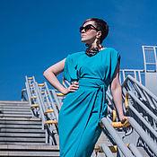 Платья ручной работы. Ярмарка Мастеров - ручная работа Платье с 2м запахом. Handmade.
