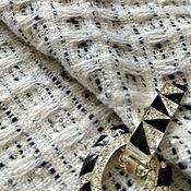 Материалы для творчества ручной работы. Ярмарка Мастеров - ручная работа Ткань костюмно- пальтовая шерсть. Handmade.