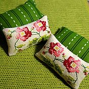Куклы и игрушки handmade. Livemaster - original item Pillows for dolls (set of 4 PCs.). Handmade.
