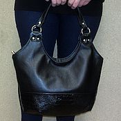Сумки и аксессуары handmade. Livemaster - original item Leather bag 195. Handmade.