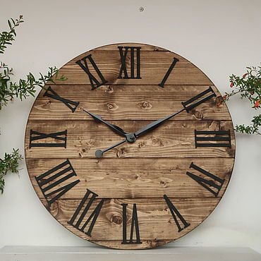 "For home and interior handmade. Livemaster - original item Copy of Copy of Large Wall Clock 24"". Handmade."