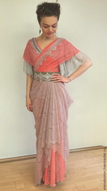 """Платья ручной работы. Ярмарка Мастеров - ручная работа. Купить Бальное платье """"Коралловая карамель"""". Handmade. Кремовый, платье на заказ"""
