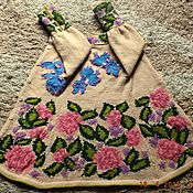 Работы для детей, handmade. Livemaster - original item coat Spring knitted children`s author. Handmade.