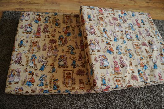 Мебель ручной работы. Ярмарка Мастеров - ручная работа. Купить Диванные подушки из гобелена. Handmade. Комбинированный, холофайбер, пенополиуретан