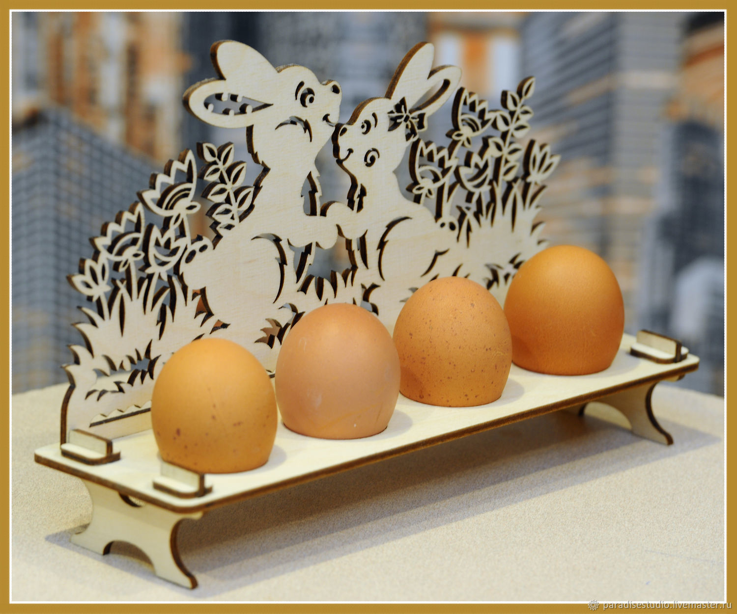 Stand for Easter eggs, Blanks for decoupage and painting, Kotlas,  Фото №1