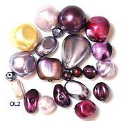 Материалы для творчества handmade. Livemaster - original item 20 grams Czech seed beads mix Lila 0050 glass beads Preciosa. Handmade.