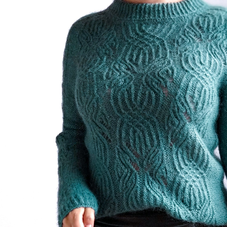 Описание #jumper_casual, Схемы для вязания, Орел,  Фото №1