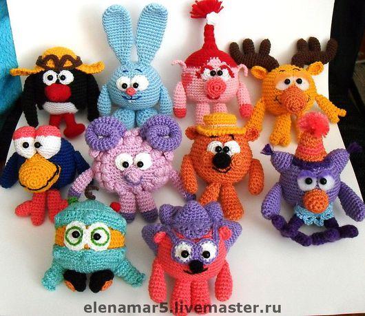 Игрушки животные, ручной работы. Ярмарка Мастеров - ручная работа. Купить Вязаные игрушки на заказ. Handmade. Вязаные игрушки