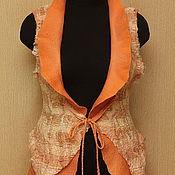 Одежда ручной работы. Ярмарка Мастеров - ручная работа Морковный фреш. Handmade.