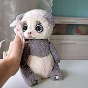 Куклы и игрушки ручной работы. Ярмарка Мастеров - ручная работа панда Груша. Handmade.