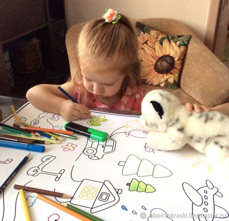 плакат раскраска малыш для самых маленьких детей пдф Pdf купить на ярмарке мастеров H1kzrru выкройки саратов