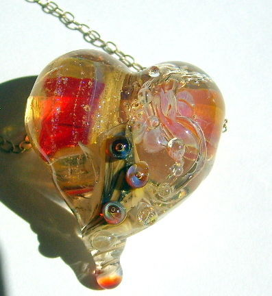 Pendant - Heart.' Vibes of love', Pendants, St. Petersburg,  Фото №1
