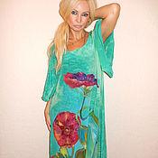 Одежда ручной работы. Ярмарка Мастеров - ручная работа Платье-Цветок лотоса. Handmade.