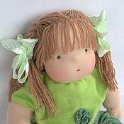 Куклы и игрушки ручной работы. Ярмарка Мастеров - ручная работа В зеленый горошек. Handmade.
