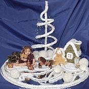 Подарки к праздникам ручной работы. Ярмарка Мастеров - ручная работа Зимняя сказка детства. Handmade.