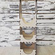 Подарочные коробки ручной работы. Ярмарка Мастеров - ручная работа Подарочные коробки: Подставка под бутылки. Handmade.