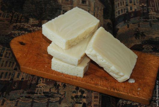 Мыло ручной работы. Ярмарка Мастеров - ручная работа. Купить Мыло с нуля для банных, туалетных и хозяйственных нужд. Handmade. Белый