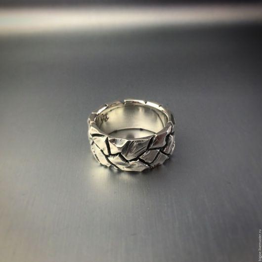 Кольца ручной работы. Заказать кольцо из серебра. Авторское кольцо. Необычное кольцо. BigJoe. Ярмарка Мастеров. Купить кольцо засуха, серебро 925 пробы