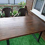 Для дома и интерьера handmade. Livemaster - original item Loft table