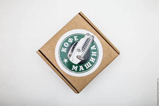 """Подарочные наборы ручной работы. Ярмарка Мастеров - ручная работа. Купить Чашка """"Кофе машина"""". Handmade. Ярко-красный, кофемашина"""