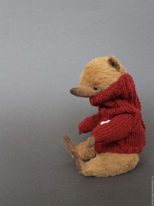 Мишки Тедди ручной работы. Ярмарка Мастеров - ручная работа. Купить Мишка опилочный бежевый. Handmade. Коричневый, сердечко