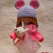 Куклы и игрушки ручной работы. Ярмарка Мастеров - ручная работа кукла Тильда большеножка текстильная, интерьерная. Handmade.