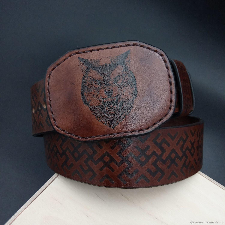 Men's belt,personalized, premium, Straps, Kineshma,  Фото №1