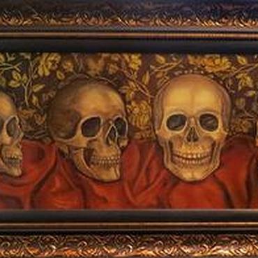 Картины и панно ручной работы. Ярмарка Мастеров - ручная работа Vanitas. Handmade.