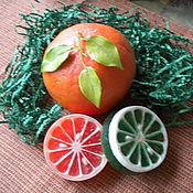 Косметика ручной работы. Ярмарка Мастеров - ручная работа Солнечный фрукт. Handmade.