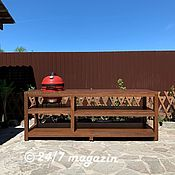 Для дома и интерьера handmade. Livemaster - original item Michigan ceramic grill table.. Handmade.