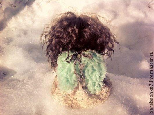 Человечки ручной работы. Ярмарка Мастеров - ручная работа. Купить Мятный ангел.... Handmade. Кукла, кукла в подарок, куклы и игрушки