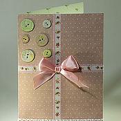 Открытки ручной работы. Ярмарка Мастеров - ручная работа Подарочные открытки с секретом. Handmade.