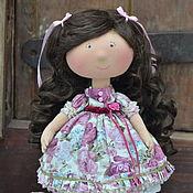 Куклы и игрушки ручной работы. Ярмарка Мастеров - ручная работа Девочка с локонами. Handmade.