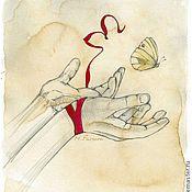 Картины и панно ручной работы. Ярмарка Мастеров - ручная работа Свобода. Handmade.