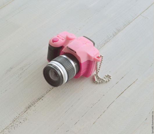Куклы и игрушки ручной работы. Ярмарка Мастеров - ручная работа. Купить Фотоаппарат-миниатюра И219-К розовый. Handmade.