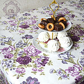 Для дома и интерьера handmade. Livemaster - original item large waterproof tablecloth irises. Handmade.