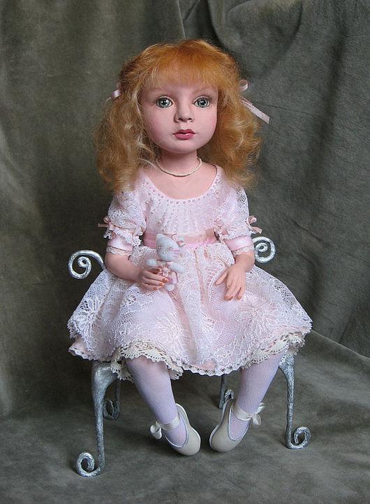 """Коллекционные куклы ручной работы. Ярмарка Мастеров - ручная работа. Купить """"Принцесса"""". Handmade. Принцесса, кружево"""
