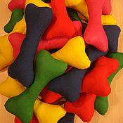 """Куклы и игрушки ручной работы. Ярмарка Мастеров - ручная работа """"Щенячий патруль"""" косточки цветные. Handmade."""