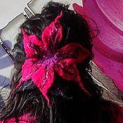 """Украшения ручной работы. Ярмарка Мастеров - ручная работа Заколка """"Лилия"""". Handmade."""