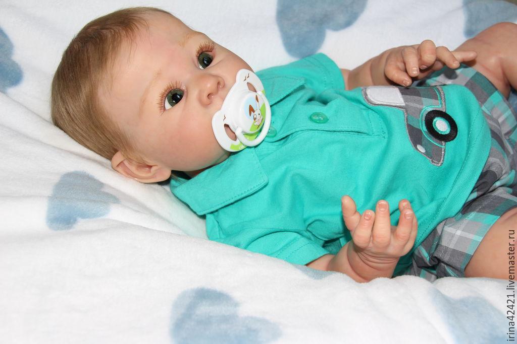 Baby Dolls & Reborn Toys handmade. Livemaster - handmade. Buy Reborn doll, Leon.Reborn, doll reborn, magnet