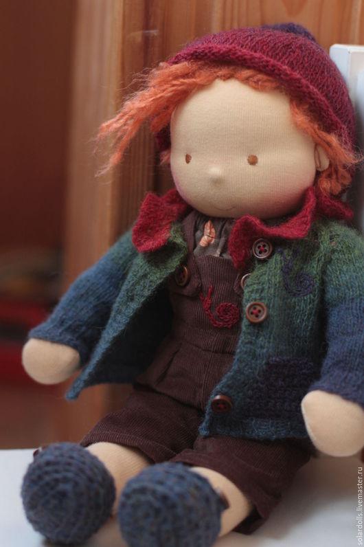 Гномик Сева 40 см.Вальдорфская кукла Julia Solarrain (SolarDolls) Ярмарка Мастеров
