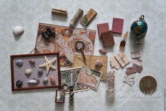 Миниатюра, масштаб 1:12, аксессуары для кукольного домика, глобус, набор для кабинета