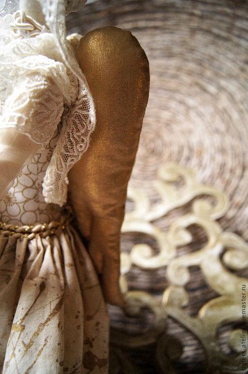 Куклы Тильды ручной работы. Ярмарка Мастеров - ручная работа. Купить текстильная кукла-Белый ангел Ангелина. Handmade.