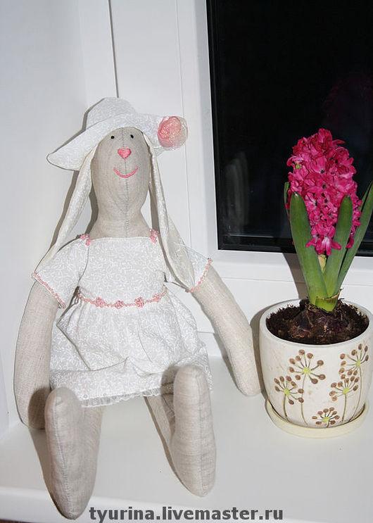 """Куклы Тильды ручной работы. Ярмарка Мастеров - ручная работа. Купить зайка """"Матильда"""". Handmade. Тильда заяц, авторская игрушка"""