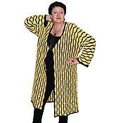 Одежда ручной работы. Ярмарка Мастеров - ручная работа Пальто-накидка хлопковое. Handmade.