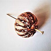 Материалы для творчества ручной работы. Ярмарка Мастеров - ручная работа .Бусина ажурная металлическая 18х18х10 мм. Handmade.