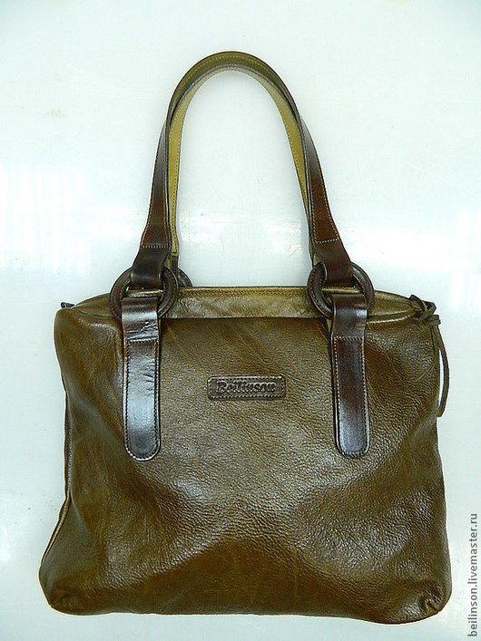 Женские сумки ручной работы. Ярмарка Мастеров - ручная работа. Купить сумка женская. Handmade. Коричневый, кожа натуральная