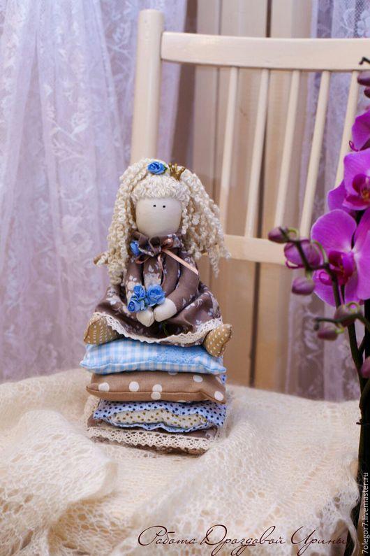 Куклы Тильды ручной работы. Ярмарка Мастеров - ручная работа. Купить Интерьерная кукла.Принцесса на горошине в стиле Тильда.. Handmade.