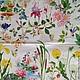 Редкая салфетка: феи, дюймовочка, камыш, одуваничики,мухомор, бабочки, цветок лотоса Салфетка для декупажа Декупажная радость